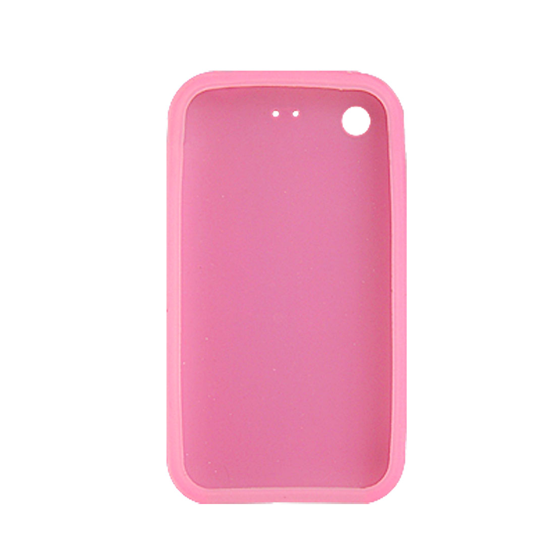 Pink Silicone Skin Case Cover for Apple iPhone 3G / 3GS