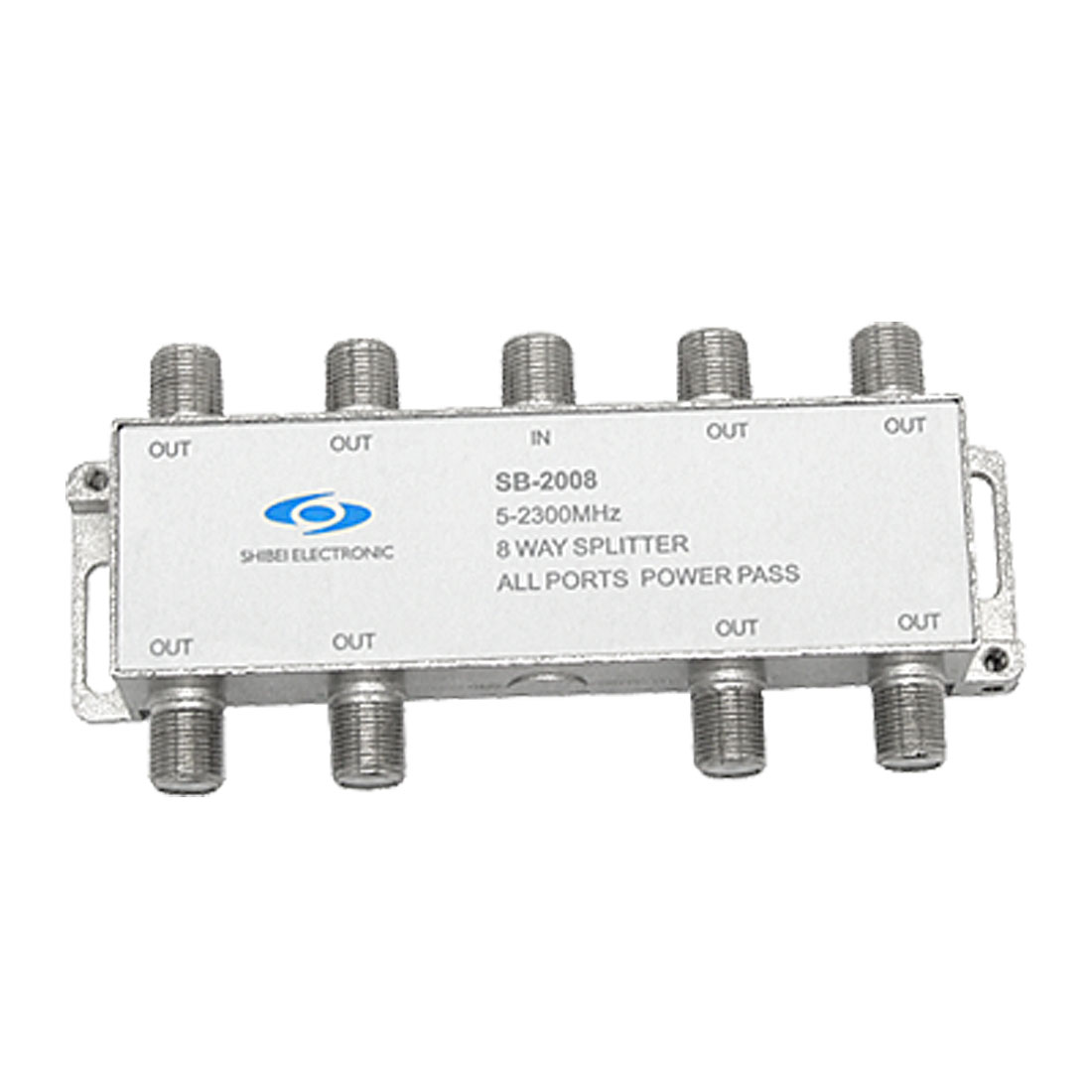 CATV Coupler Splitter 8 Way Coaxial Cable Connector