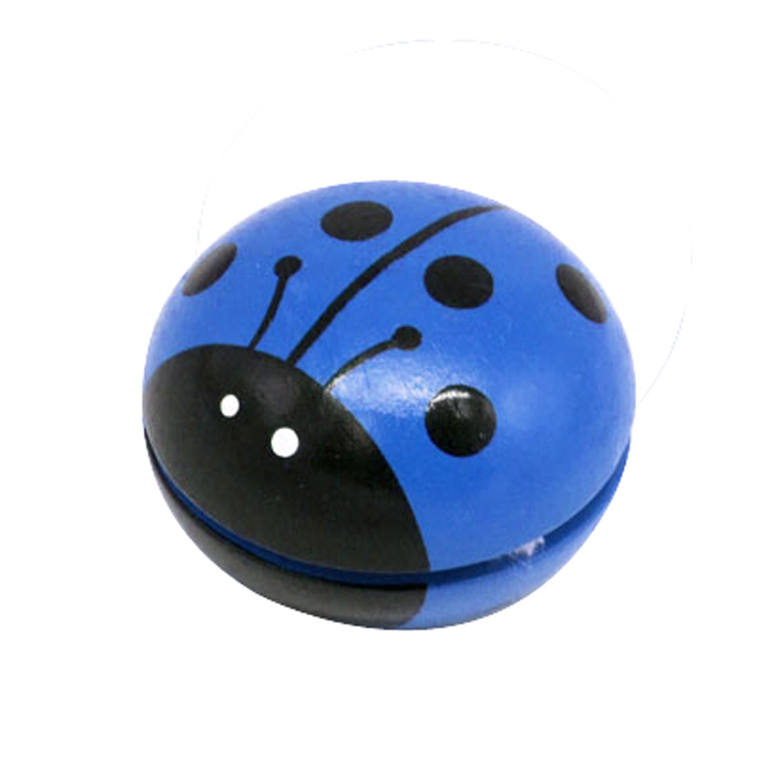 Painted Wooden Ladybird Yo-Yo Children Yo Yo Toy Blue