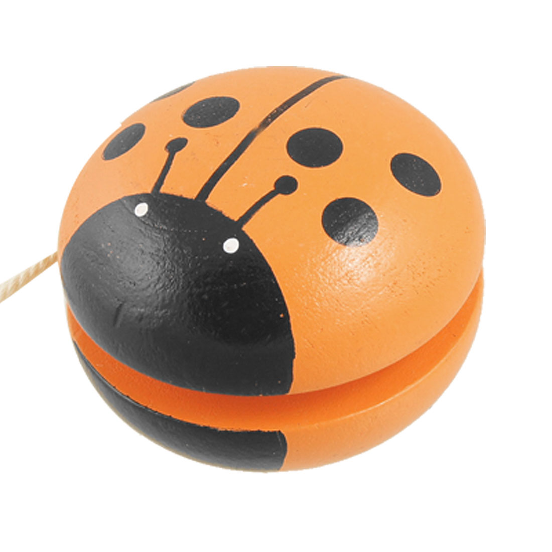 Children Wooden Yo-Yo Toy Gift with Ladybird Design