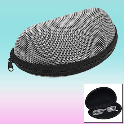 Oval Hard Shell Eyeglasses Glasses Sunglasses Case Holder
