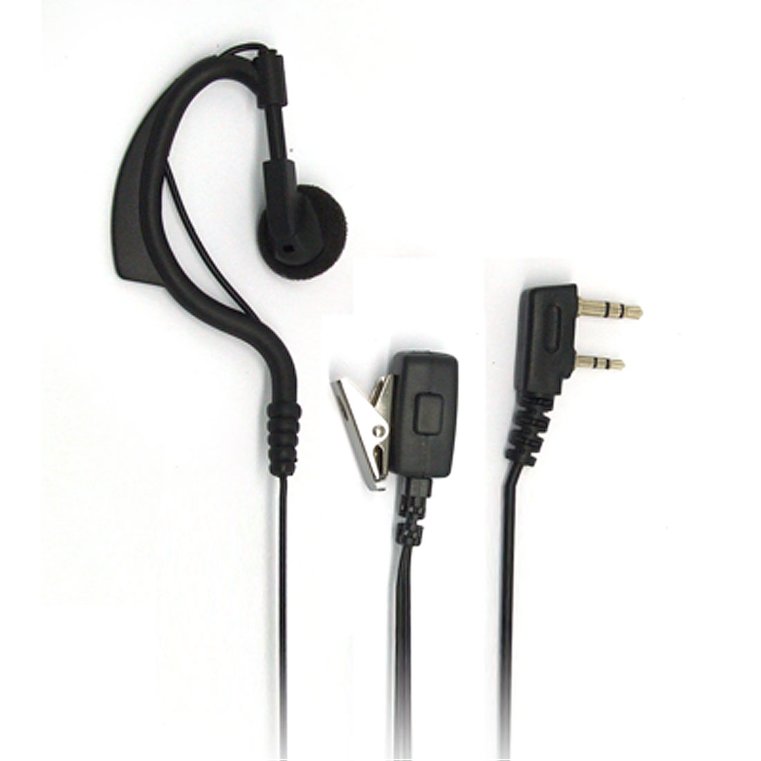 Radio Earhook Earphone Walkie Talkie for Kenwood w. Clip