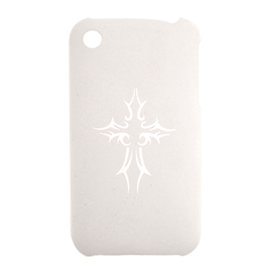 Durable White Plastic Back Case Cover for Apple iPhone 3G / 3GS