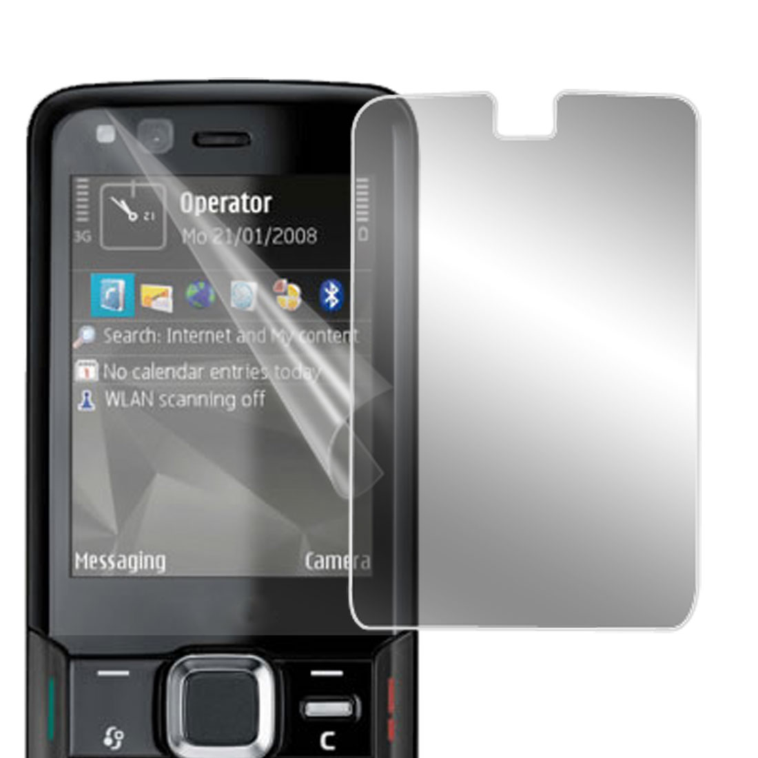 Clear LCD Screen Guard for Nokia N82