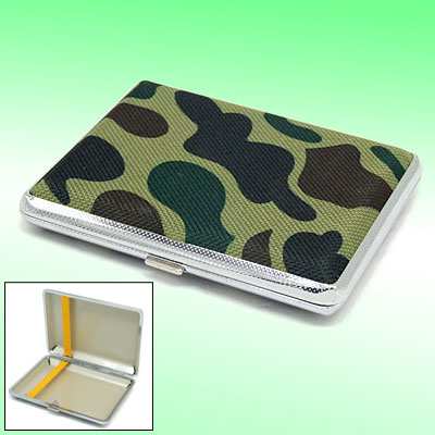 Mini Camouflage Army Cigarette Box Case Holder