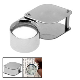 30 x 21mm Jewellers Jewelry Loupe Magnifier Eye Magnifying Glass