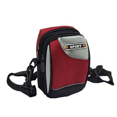 Nylon Belt Waist Bag Pouch Climbing Pack w. Zipper