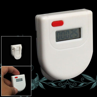 Home Clip Design LCD Electronic Digital Pedometer Step Distance Counter