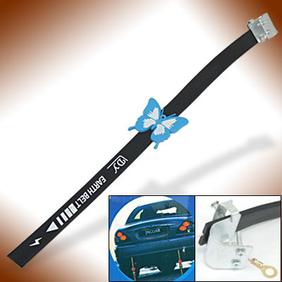 Exterior Ground Wire Anti Static Strap Earth Belt for Autos Car SUV