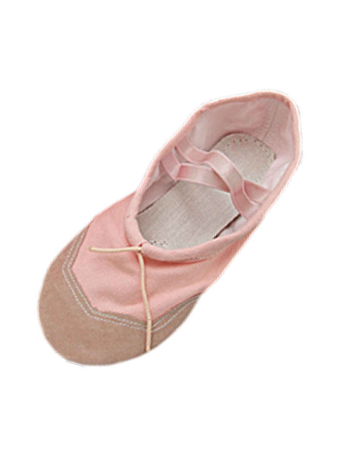Elastic Band Pink Soft Dancing Dance Girl's Shoes Size 13
