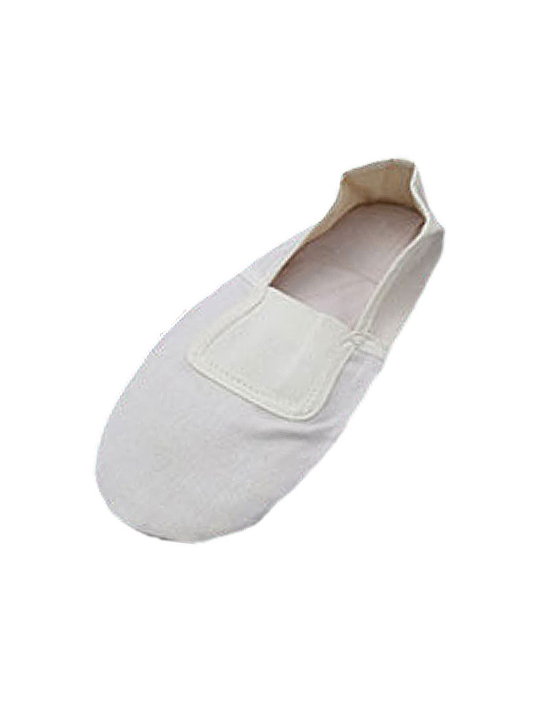 White Girls' Dancing Dance Soft Ballet Shoes Size 12