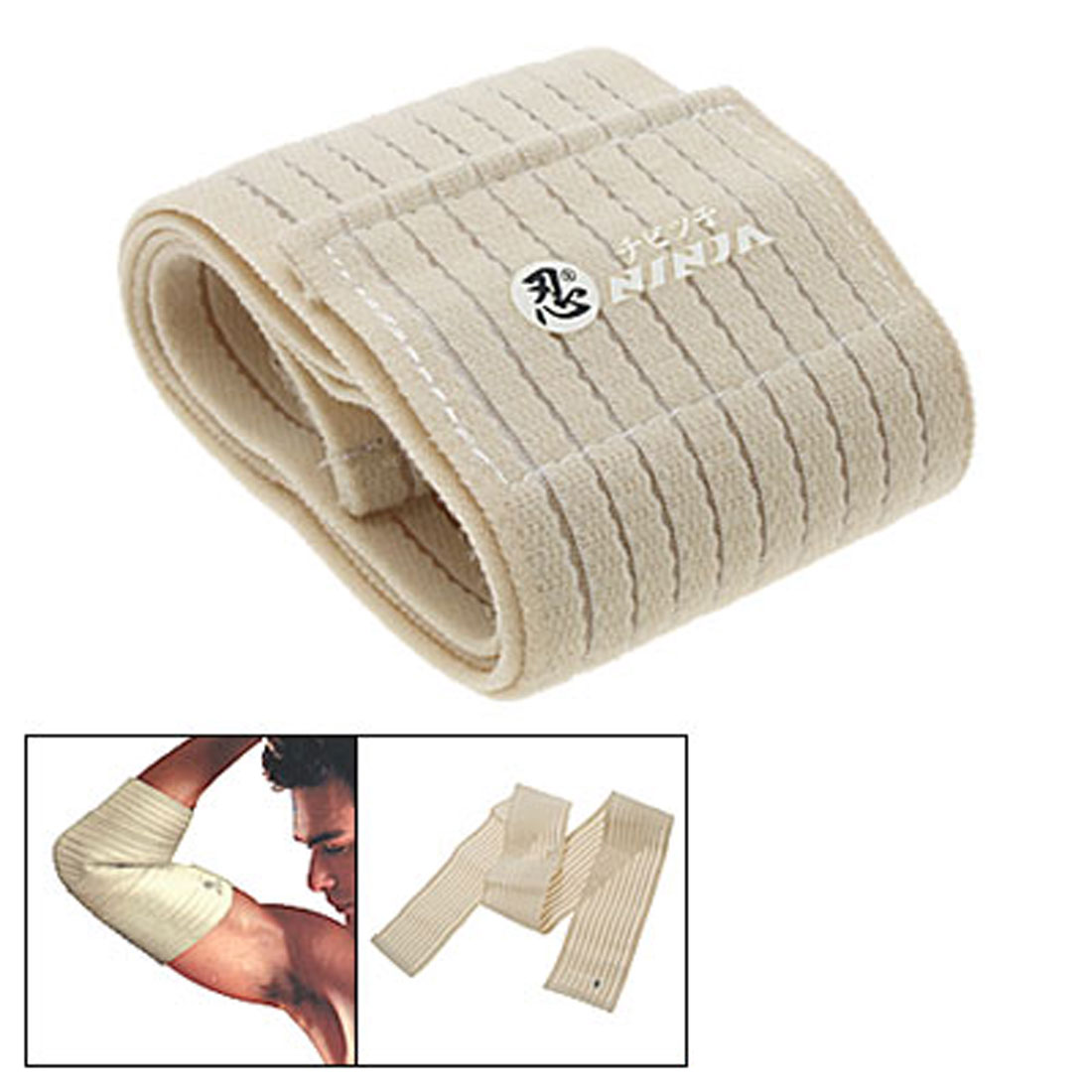 Hook and loop fasteners Elastic Sports Bandage Binder Protector