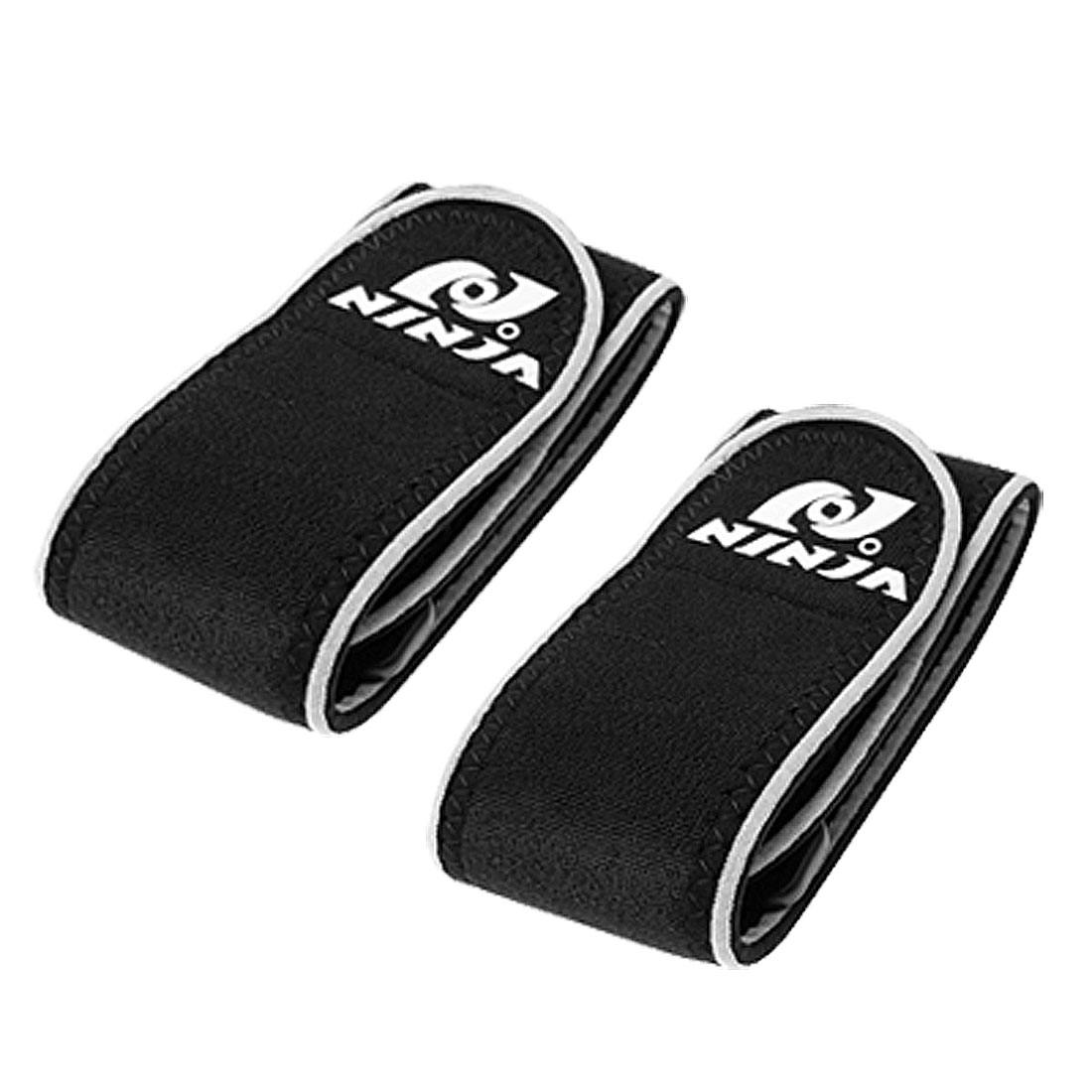 Black Neoprene Sports Wrist Support Protector 2PCS