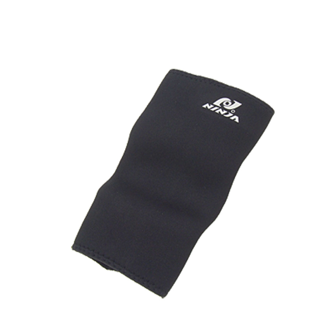 Black Sports Neoprene Elbow Support Joint Protector Size XL