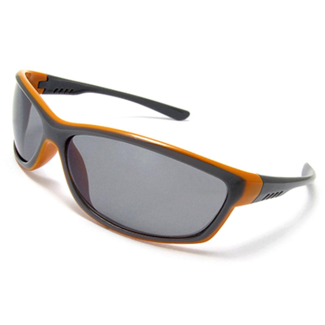 Fashion Gray Arms Plastic Frame Ladies' Sunglasses Eyewear