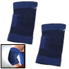 Blue Sports Elbow Joint Support Protector Size M 2pcs