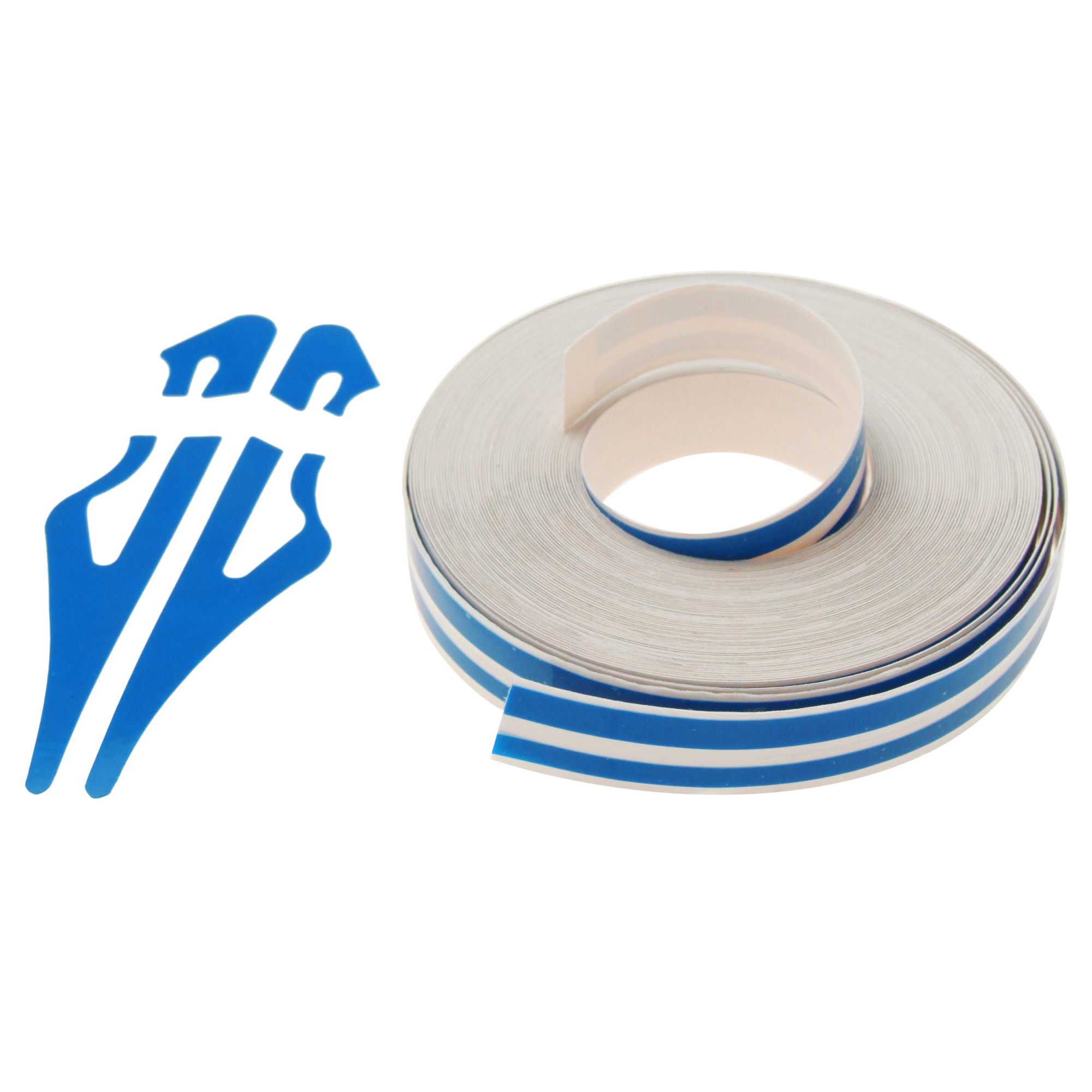 Blue Car Auto Boat Truck Stripe/ Adhesive Striping Tape Sticker W12 x L9800mm