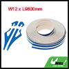 Car Stripe Adhesive Striping Tape W12 x L9800mm Blue Zzjdd