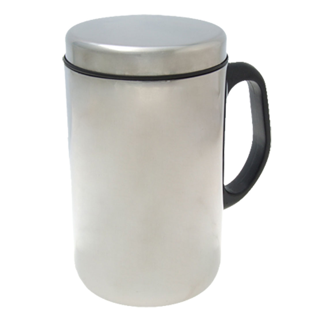Handy Handle Stainless Steel Double Layer Tea Cup Mug