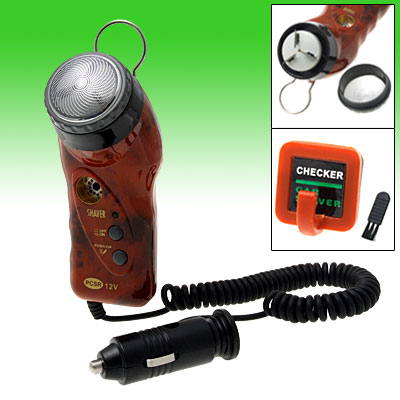 Car Auto Men's Electric Shaver Razor Ciger Lighter 12V