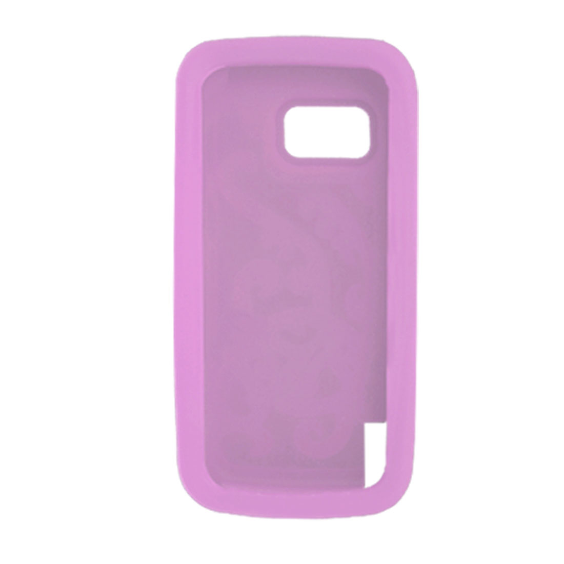 Orchid Nonslip Soft Silicone Skin Case Cover for Nokia 5800