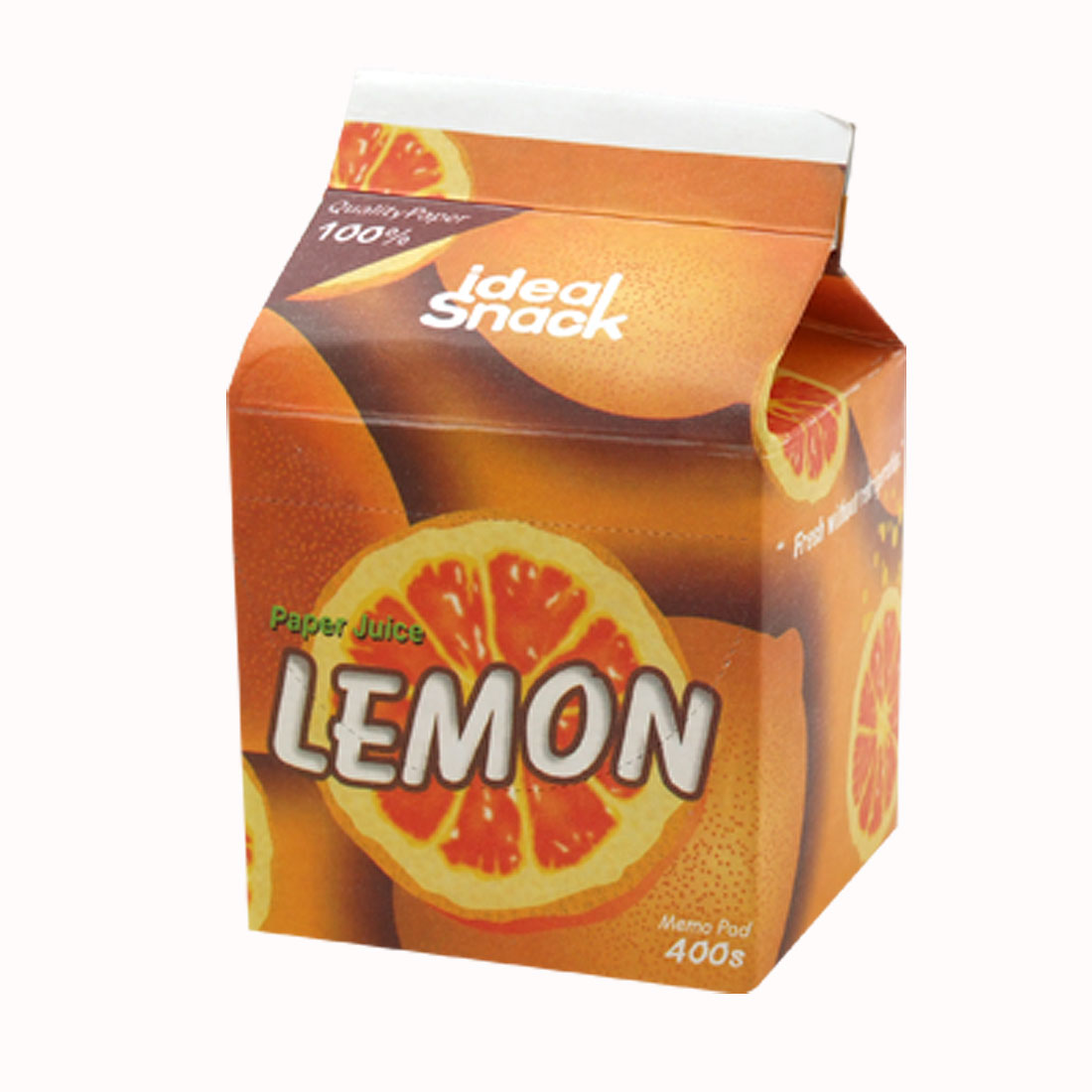 Lemon Juice Paper Pack 400 Sheets Memo Book Pad Notepad