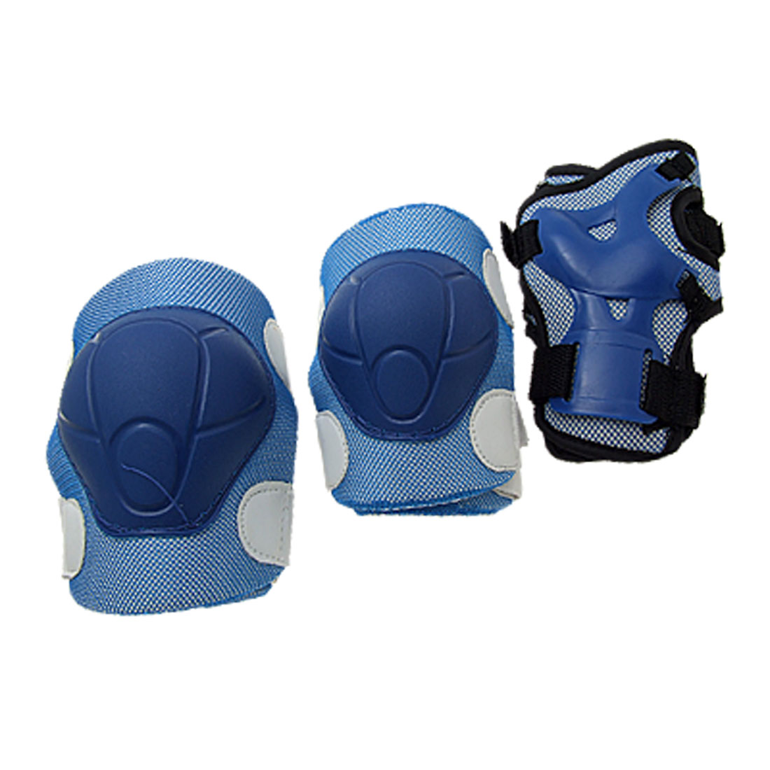 Sport Skate Protector Elbow Knee Wrist Kid's Support Blue