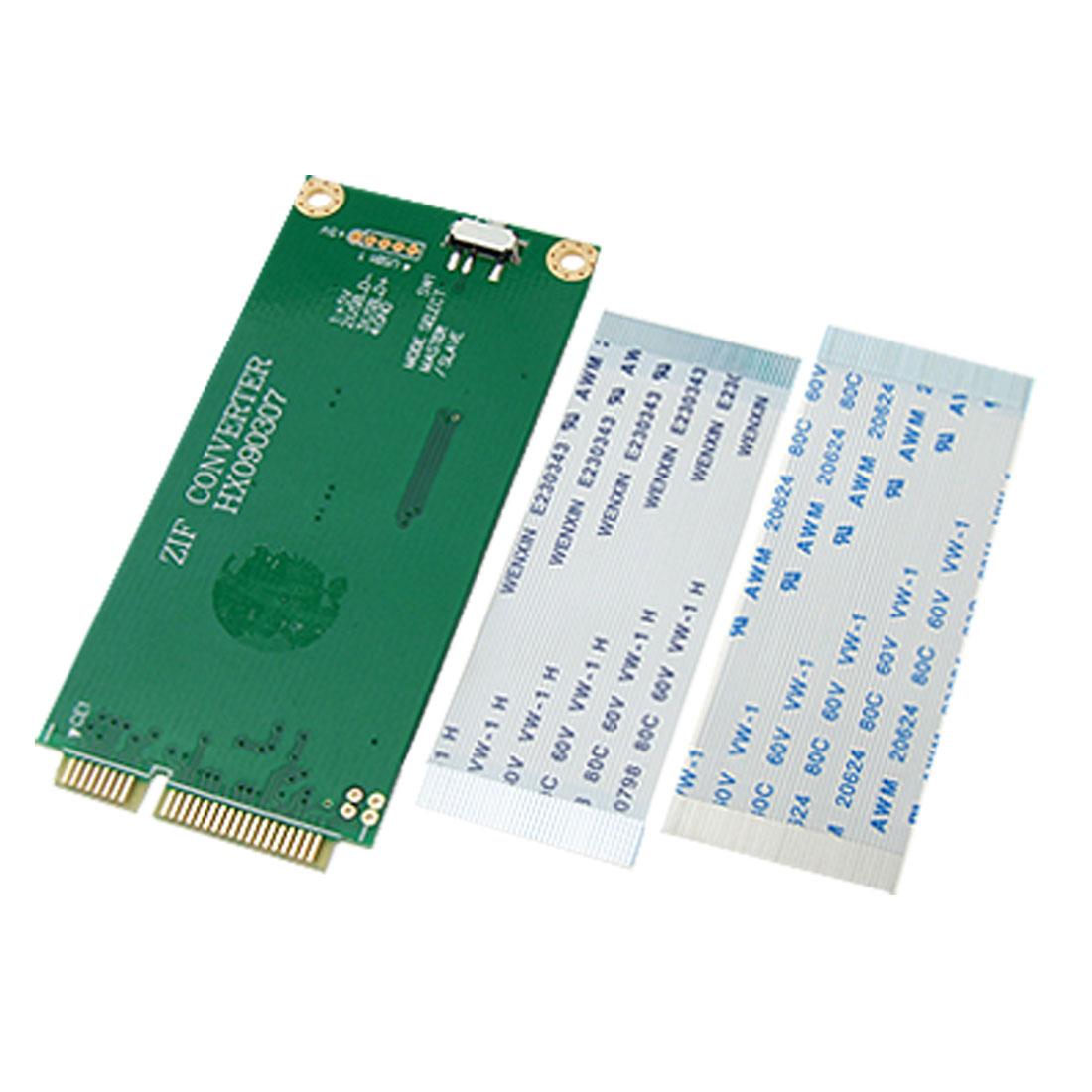 ZIF CE to Mini-PCI-E Mini PCI-Express Adapter Coverter