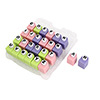 Alphabet Craft Paper Punches Set with Carrying Case