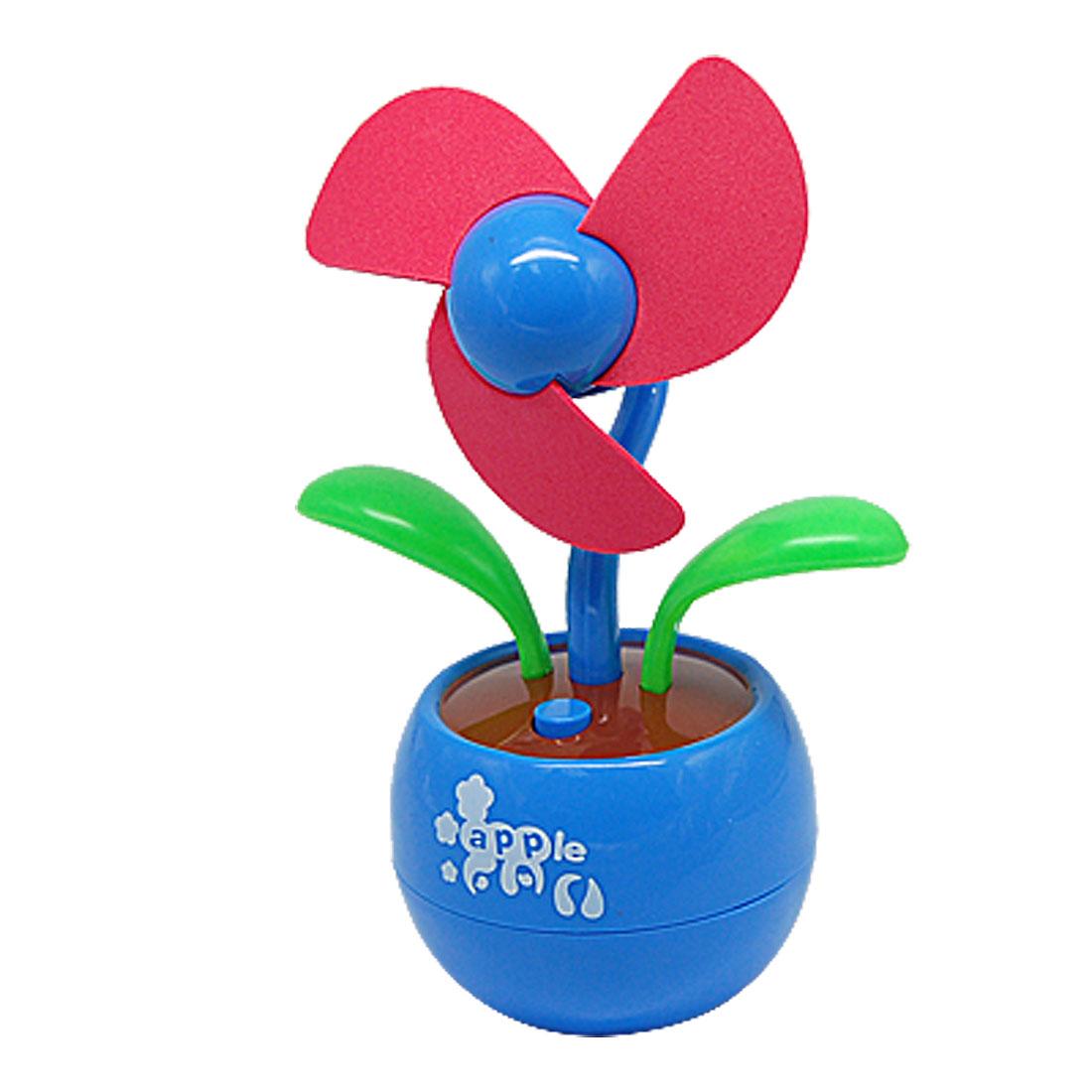 Flower Shaped Portable USB Fan for Laptop / PC