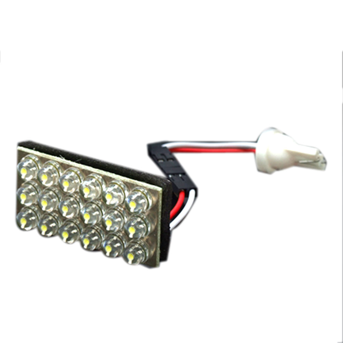 Car T10 194 168 W5W White 18 LED Dome Map Light Lamp Bulb DC 12V