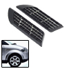 Car Decorative Euro Duct Racing Side Vent Air Flow Fender Mesh Sticker