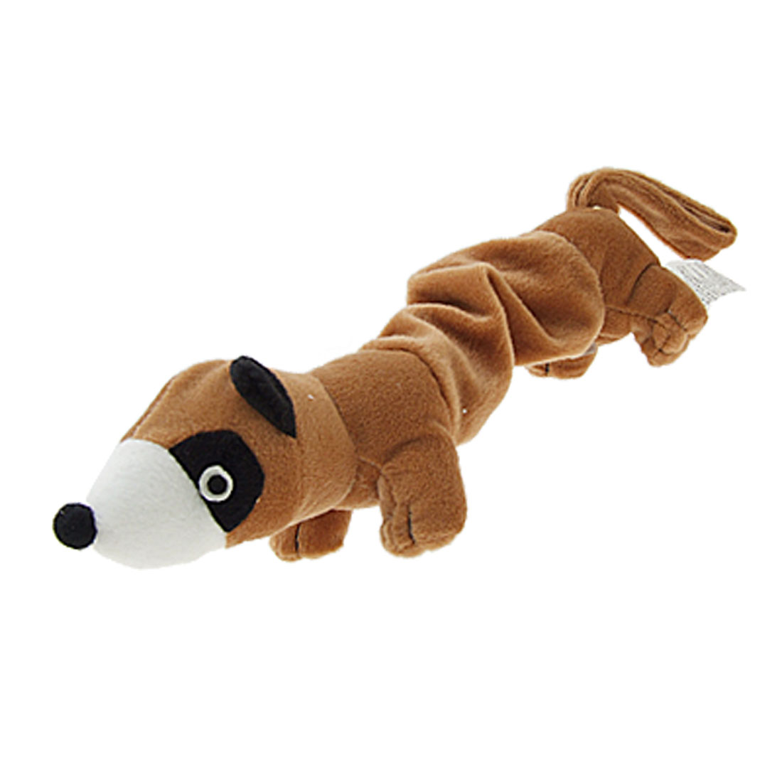 NEW Dog/Puppy Plush Toy Squeaky Otter Dog Toy Brown