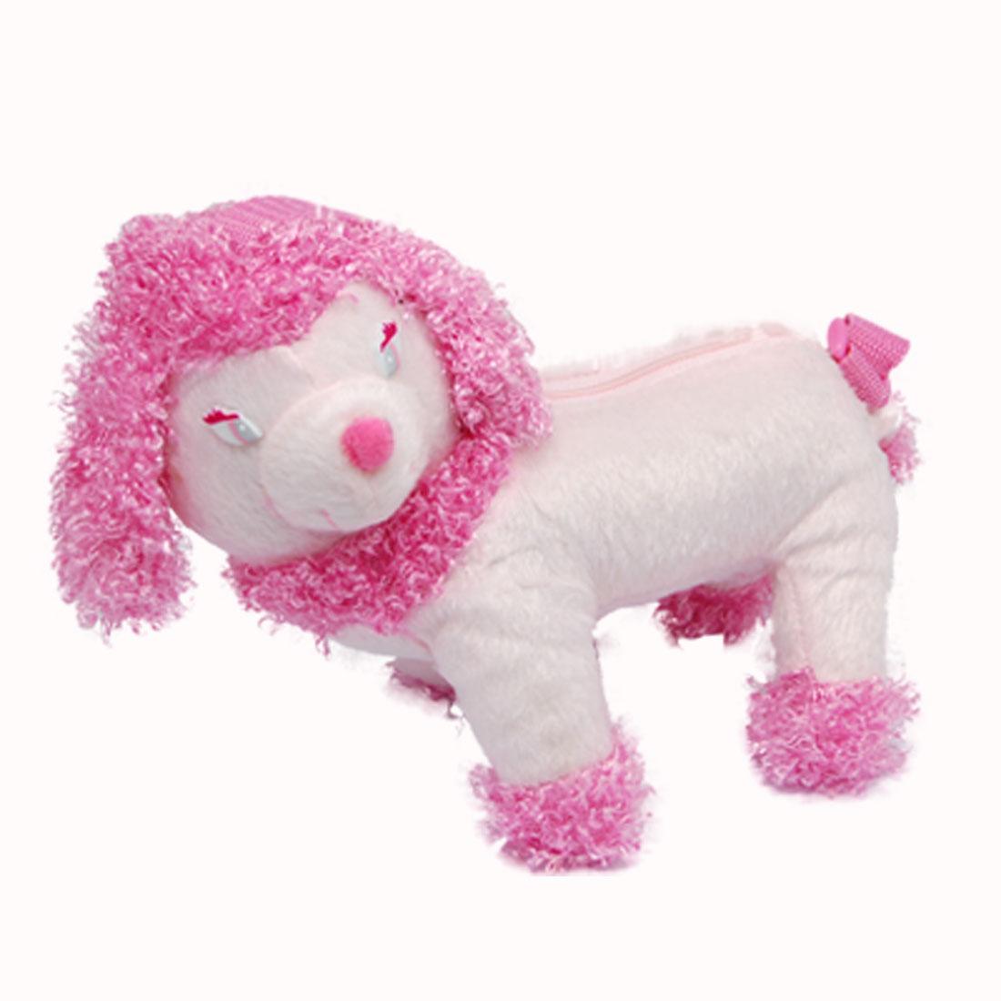 Lovely Pink Dog Shaped Kids' Carrying Storage Bag Holder