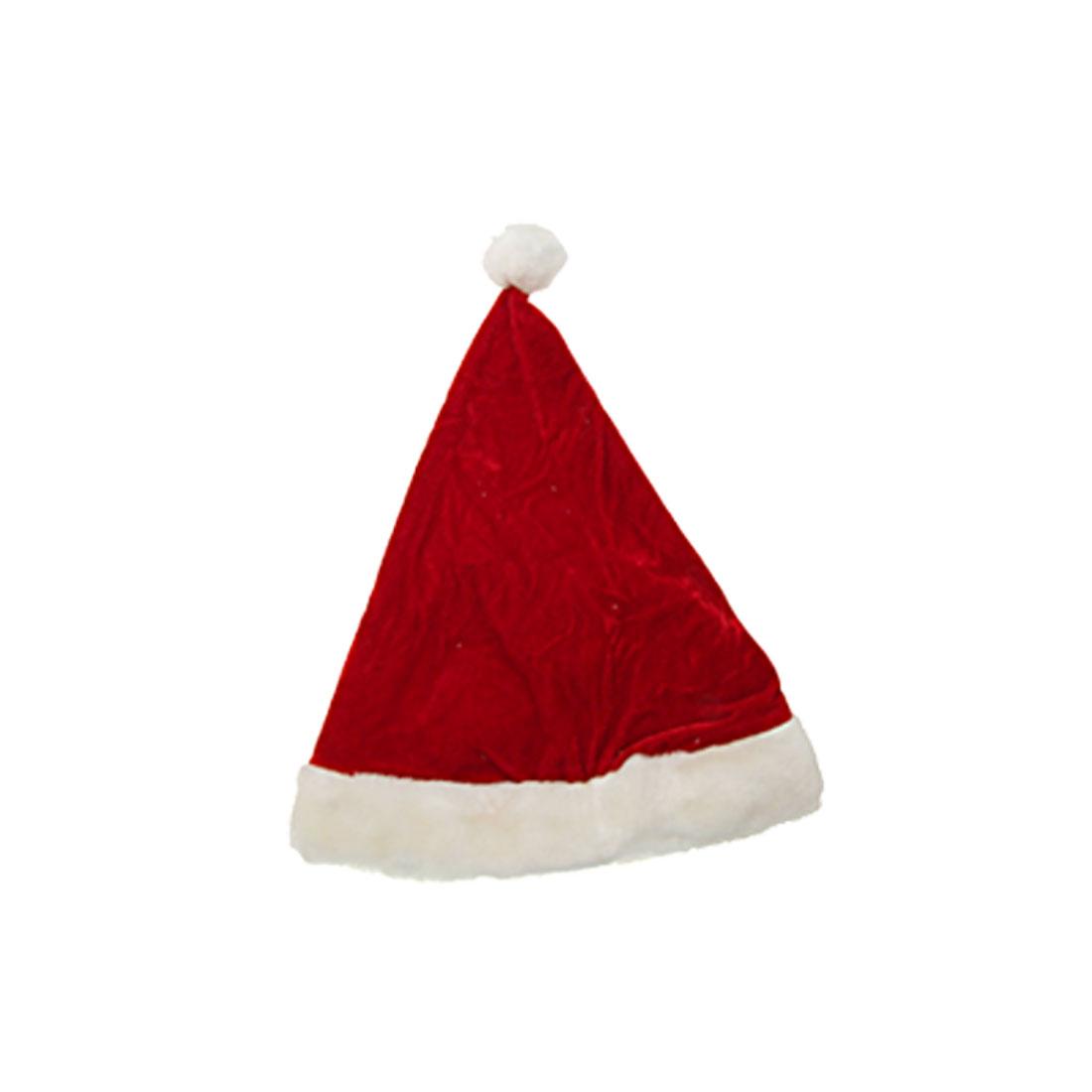 Merry Christmas Red Santa Claus Holiday Xmas Hat Cap