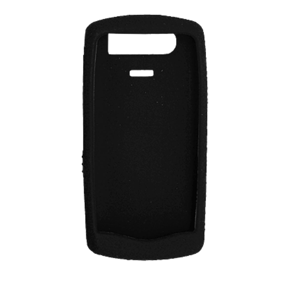 Black Textured Silicone Case Skin for Blackberry Pearl 8110
