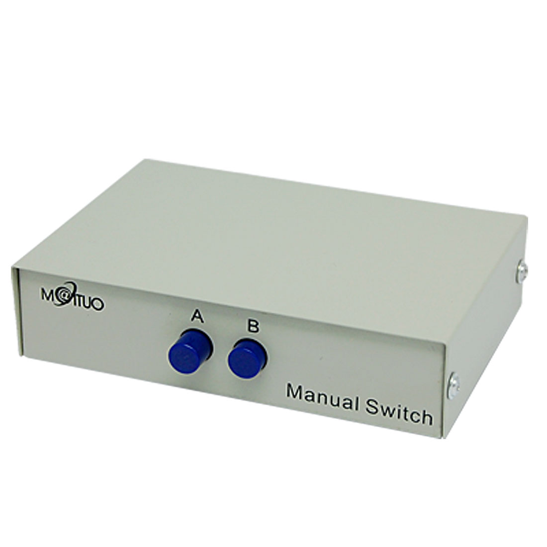 2 Port DB9 Male AB Data Manual Sharing Switch Box 2 Way