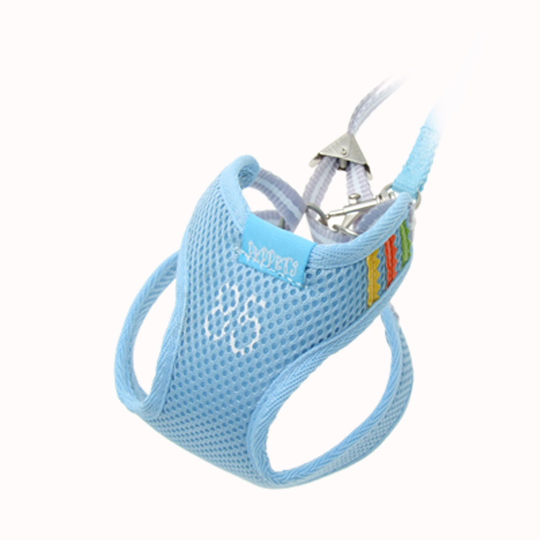 Size 1 Mesh Puppy Doggle Doggie Doggy Pet Dog Vest Harness w/ Leash