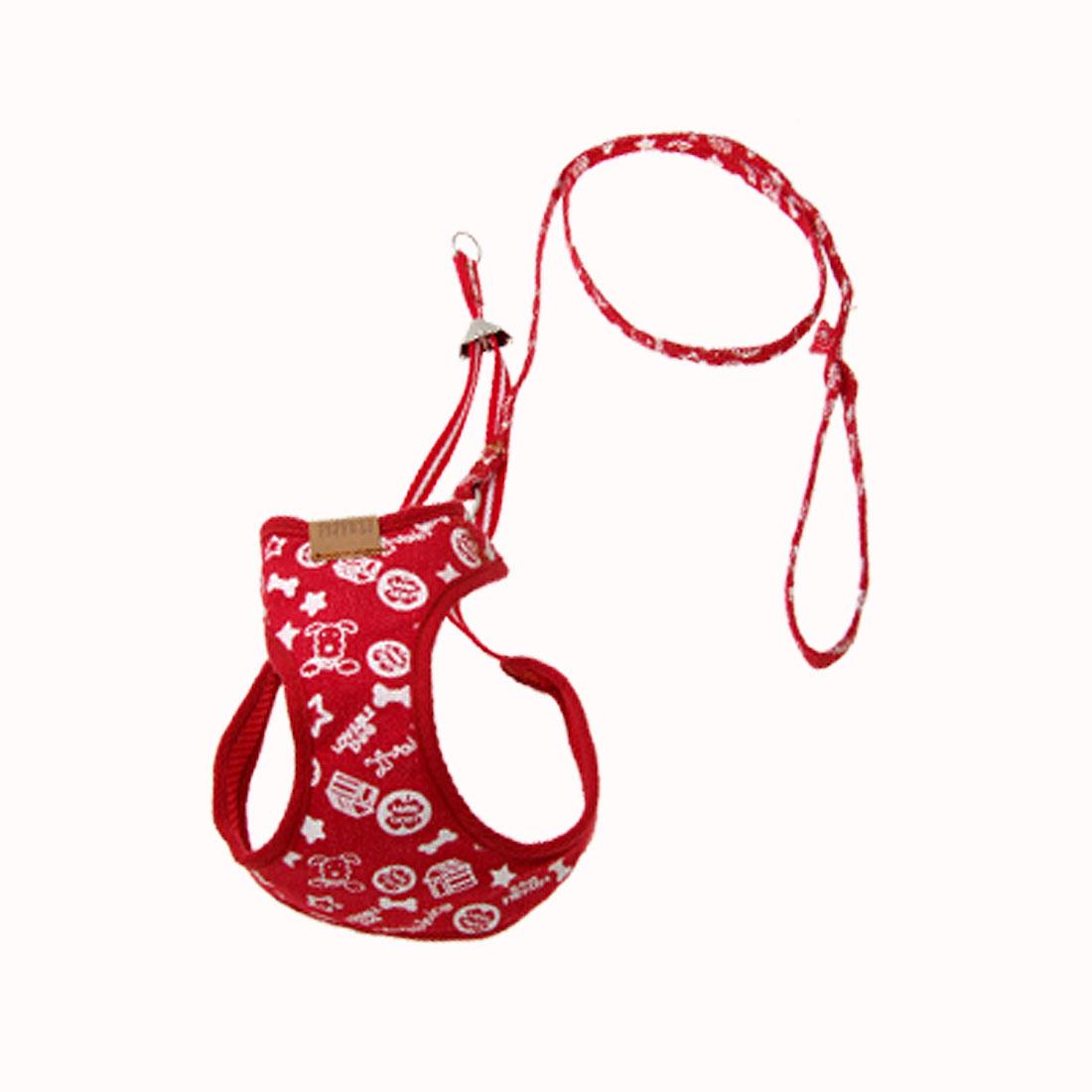 Size 4 Mesh Cat Puppy Doggle Doggie Pet Dog Vest Harness w/Leash