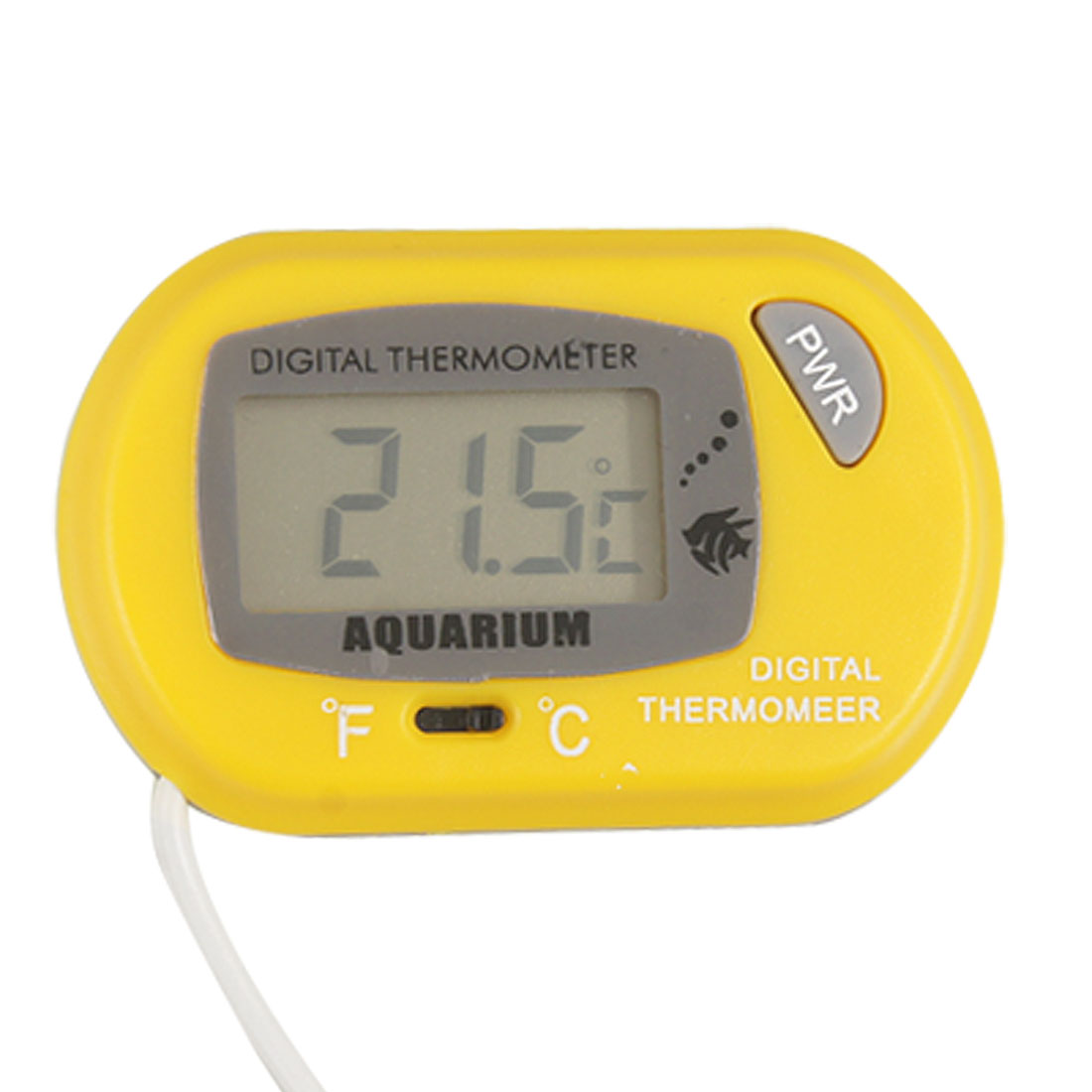 Yellow Digital Thermometer for Aquarium Refrigerator