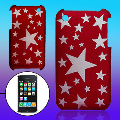 Stars Pattern Plastic Back Case for Apple iPhone 3G