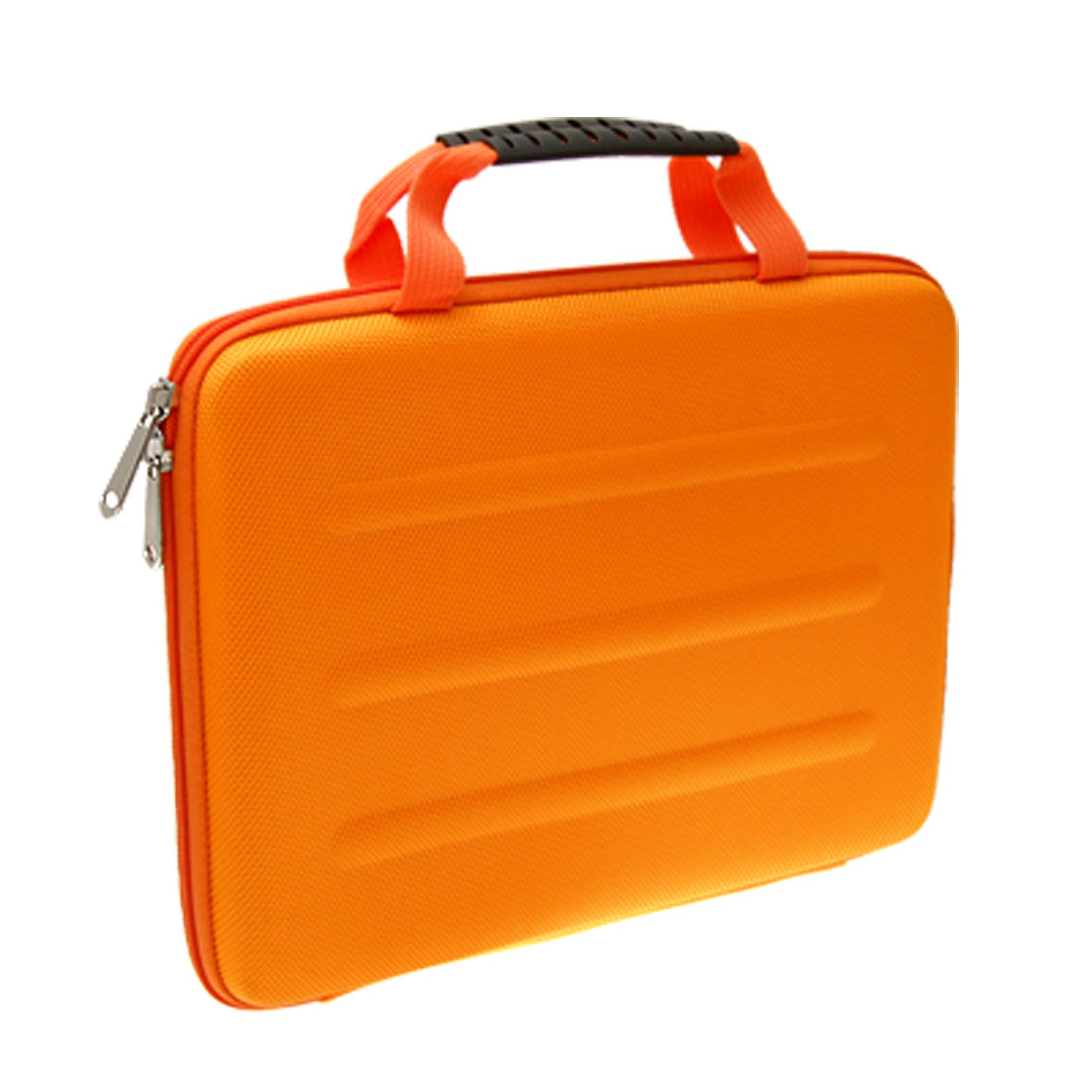 "10"" 10.1"" 10.2"" Orange Padded Foam Notebook Laptop Sleeve Bag Case"