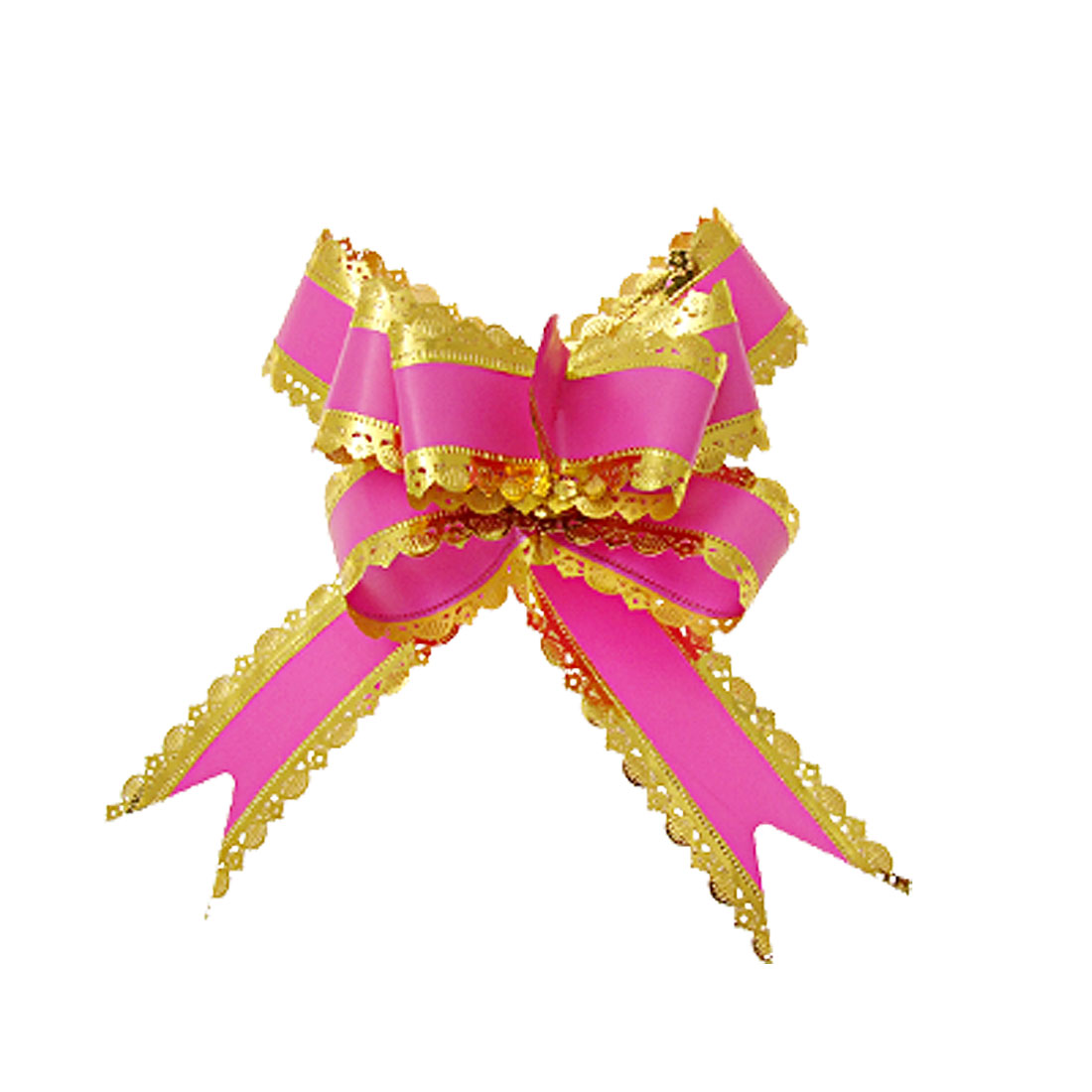 Decoration Poly Ribbon Pull Bows for Gift Wedding Party