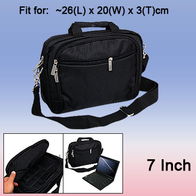 Black Carrying Bag Case for 7 Inch Laptop Notebook