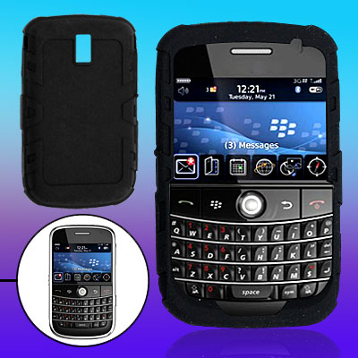 Black Soft Silicone Case Protector for BB9000