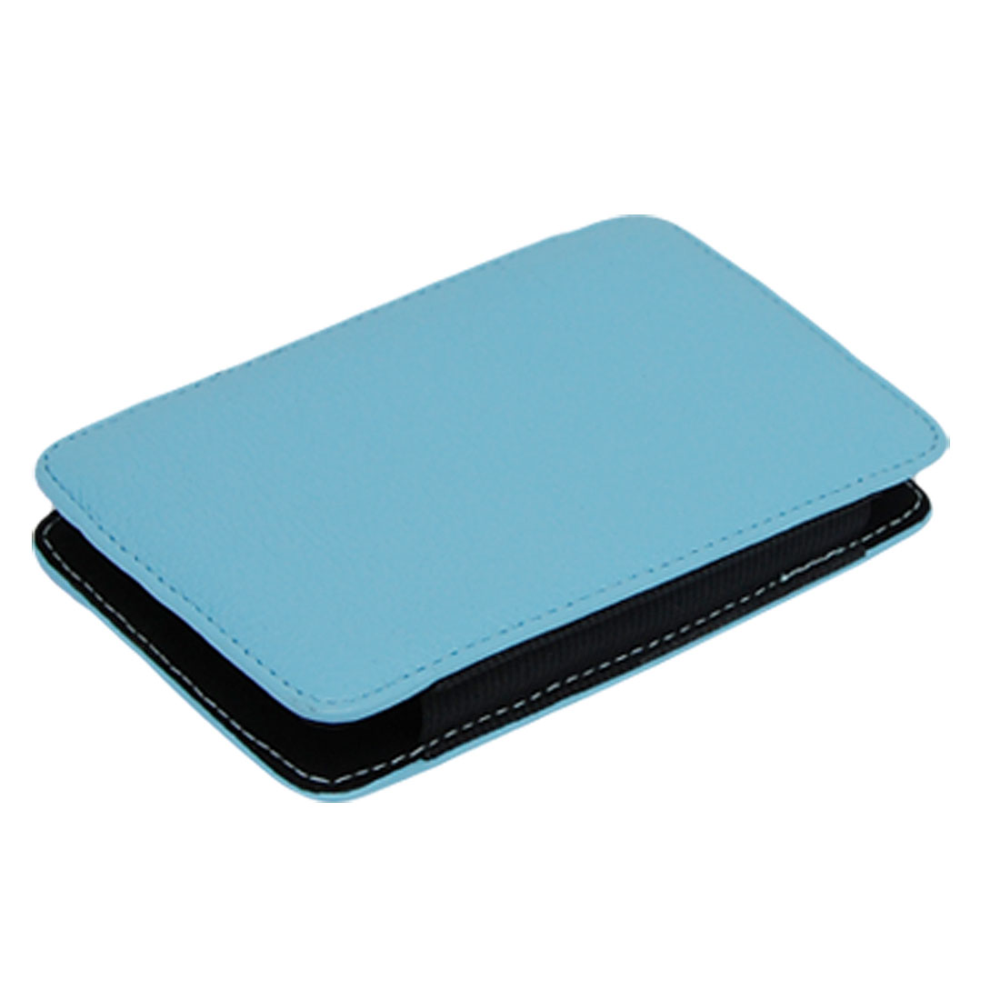 "Harddisk Protection Blue PU Leather Case Cover 2.5"" 2.5 Inches Portable HDD Box"