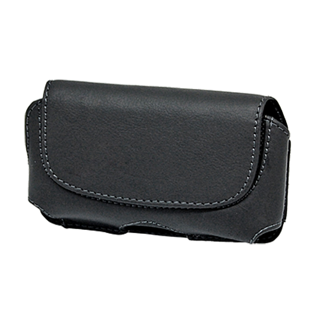 Black Leather Case Pouch with Belt Clip for Apple iPhone 3G
