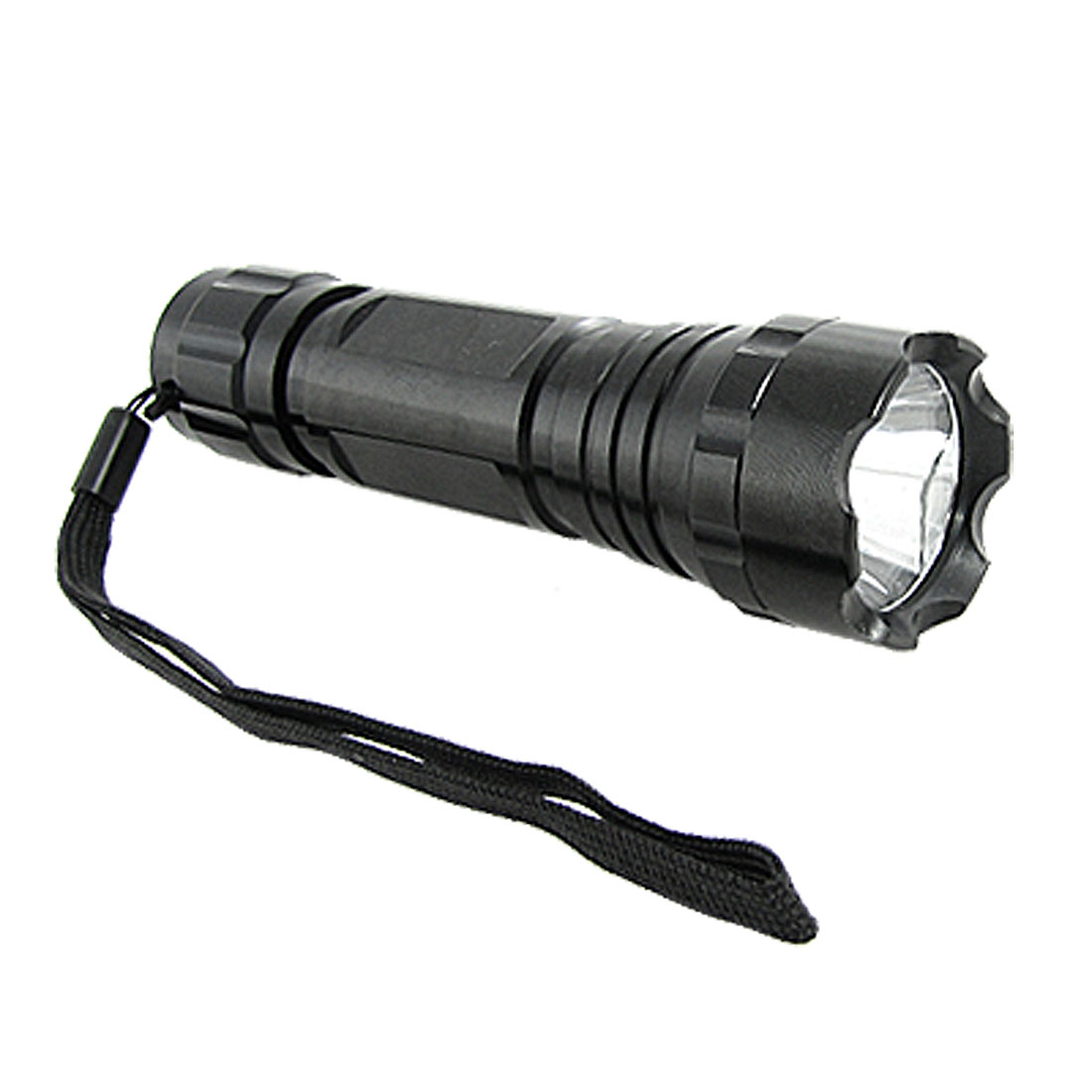 2W 110 Lumens Aluminium LED Xenon Flashlight Torch w/ Handy Strap