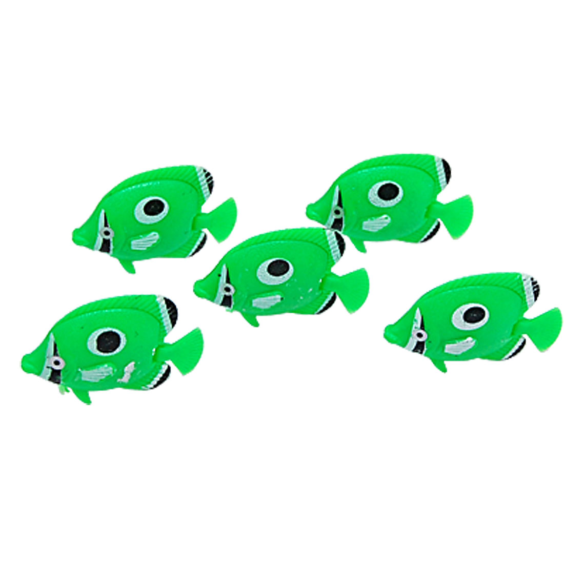 Green Plastic Floating Mini Fish Aquarium Decoration