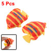 Life-Like Plastic Floating Fish Ornament for Aquarium